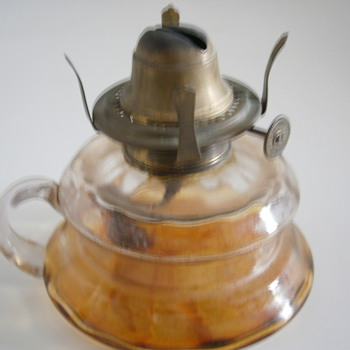Antique Kerosene Oil Lamp