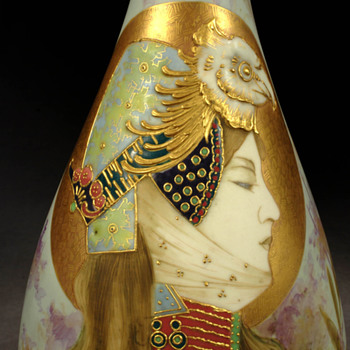 Eastern Warrior by Amphora - Art Pottery