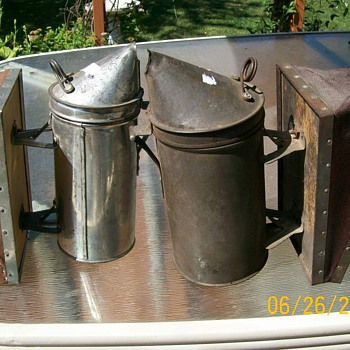 Vintage Bee Smokers with Bellows - Tools and Hardware