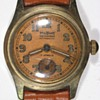"""Military"" brand men's wristwatch, late 1940s."