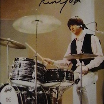 Ringo Starr Autographed Photo