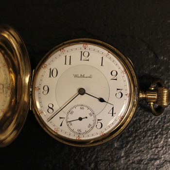 Rare 1903 Waltham Model #1899 Riverside Maximus 23J Solid Gold Pocketwatch  - Pocket Watches