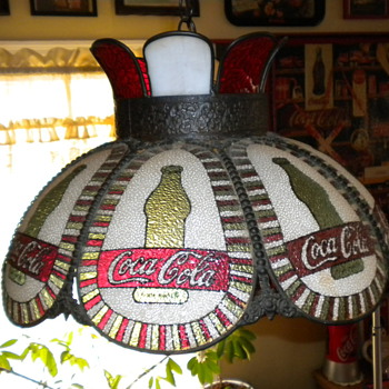 Hanging Coca Cola Light