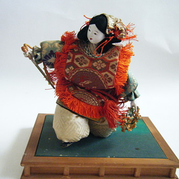 Unusual Japanese doll