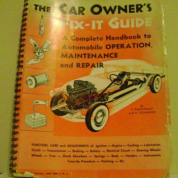 Vintage Car Repair Guide - Books