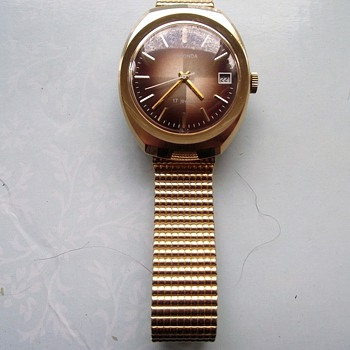 1971-mens vintage sekonda watch-mechanical winding.