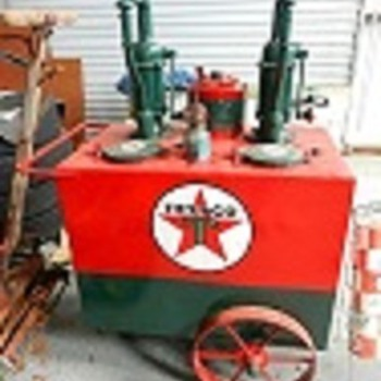 Texaco Lubester cart... - Petroliana