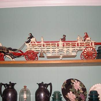 Toy Fire Engine - Model Cars