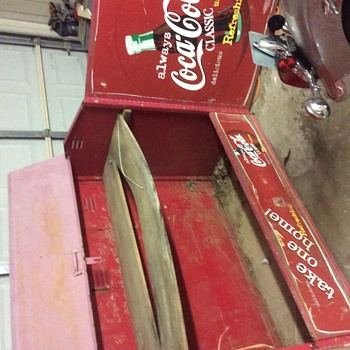 Coke case display or storage?