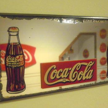1930's Coca-Cola Mirror