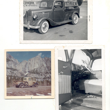 Both 1935 Ford trucks I have owned - Classic Cars