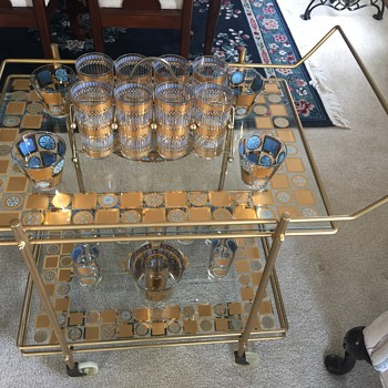 Culver Carnival Bar / Serving Cart