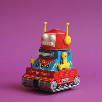 Mini Robo Tank - Toys