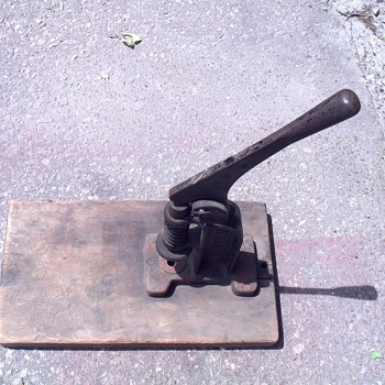 Defiance button press. - Tools and Hardware