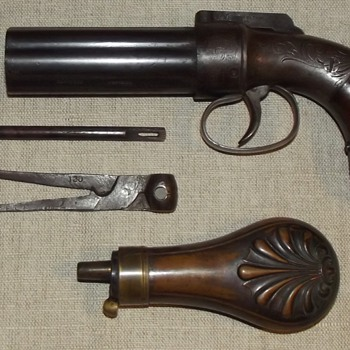 1845 Model Allen Thurber Pepperbox - Outdoor Sports