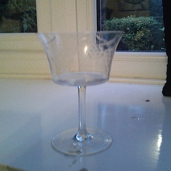 Unknown wine glasses