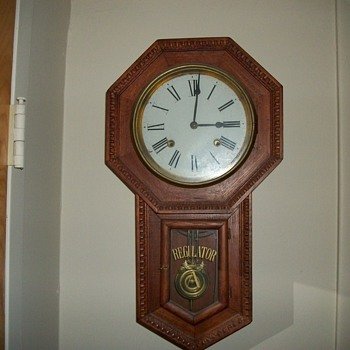 8 Day Regulator A  clock - Clocks