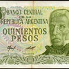 Argentina - 500 Pesos Bank Note