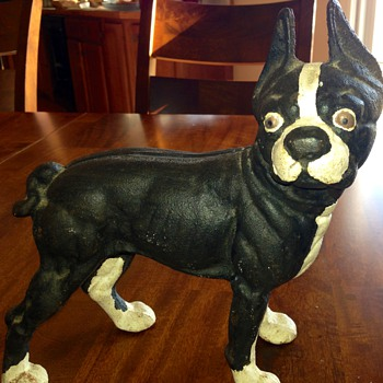 Boston Terrier Door Stop - Figurines