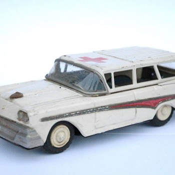 AMBULANCE FORD FAIRLANE, JOUSTRA VERS 1956