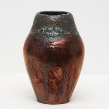 Lustre Glaze Vase, Kongstrand Pottery (Denmark), 1911-1919 - Pottery