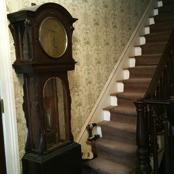"Grandfather clock ""the condliff"""