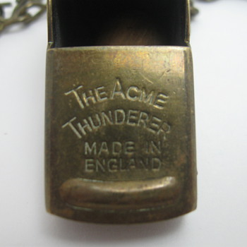 The Acme Thunderer Whistle