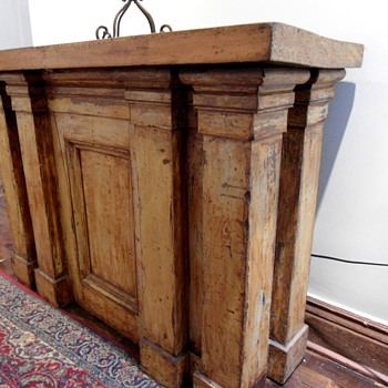 Antique Communion Table - Furniture