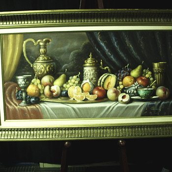 "Still Life ""KAROLY PALKEAK""XX century - Visual Art"