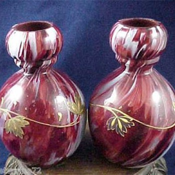 One Bloody Decor in Many Shapes from Ruckl and Others..... - Art Glass