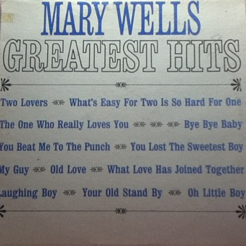 """Mary Wells: Greatest Hits"" Record Album"