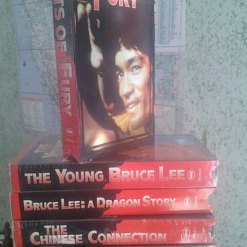 VHS bruce Lee movies