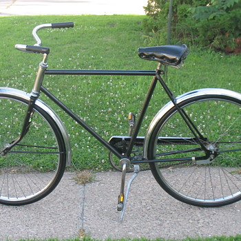Montgomery Ward's Hawthorn Coaster Bicycle Restored - Sporting Goods