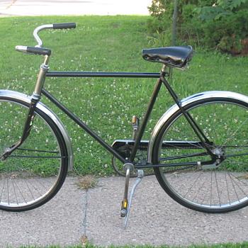Montgomery Ward's Hawthorn Coaster Bicycle Restored