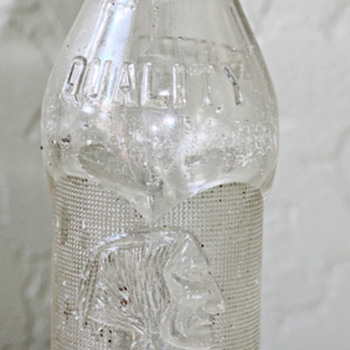 1925 Butte MT Coca Cola Bottle