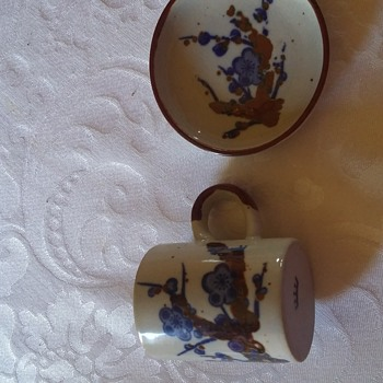 small cup and saucer set  - China and Dinnerware