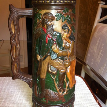 Des Sculp-7 Farkas Ky. Mold I think it is a beer stein???