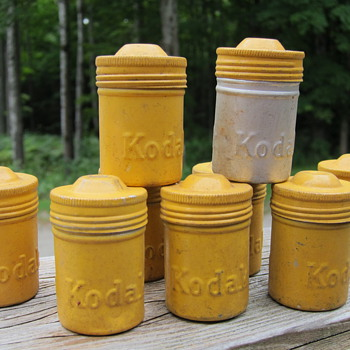 Vintage Kodak Film Canisters