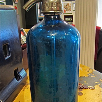 Excelsior Beverage INC. Selzter bottle - Glassware