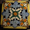 Large Majolica Tile from Spain