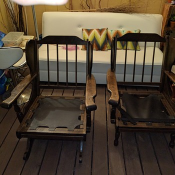 Platform Rocker and Chair