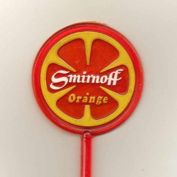 Smirnoff Orange Vodka - Drink Stirrer - Advertising