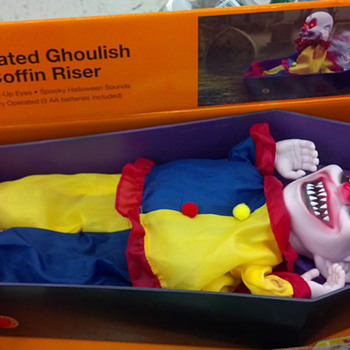 Halloween 2012, Animated Ghoulish Coffin Risers