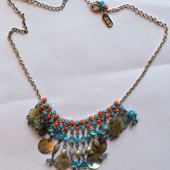 Unusual necklace  - Costume Jewelry