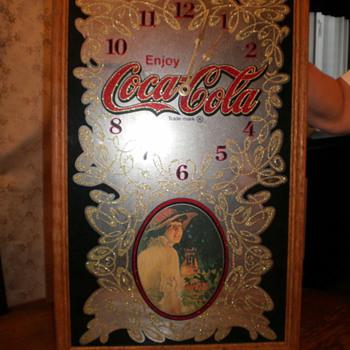 Coco Cola Clock - Coca-Cola