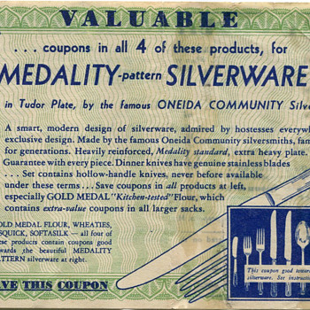 Premium Coupons From 1939-40 - Advertising