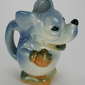 1930's Mickey Mouse Pitcher - Animals
