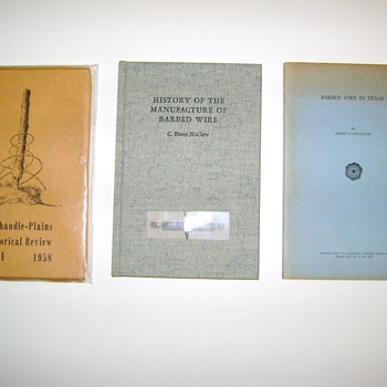 Barbed Wire ID Books