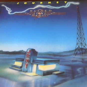 "Journey ""Raised on Radio"" - Records"