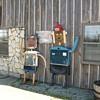 Radiator shop folk art!